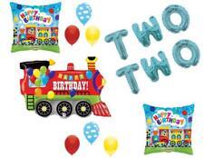 Chugga Chugga Two Two Train 2nd Birthday Party Balloons Decoration Supplies
