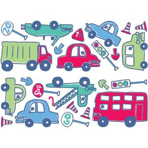 Beep Beep Cars & Travel Wall Stickers