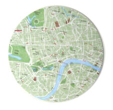LONDRES carte - Carte SOUS-VERRE