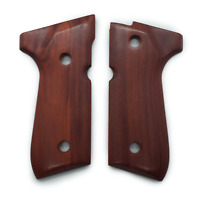 Exotic Selected Ebony Wood Beretta GRIPS 92/96 Series Pistols 92F, 92FS, M9, 96