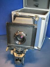 Sinar Large Format 4x5 F1 camera Sinaron 210mm/Copal 1 with Case/Key