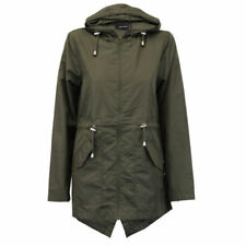 Polyester Military Regular Coats & Jackets for Women