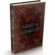 51 RAREWeapons Arms & Armour Books on DVD Suit of Armor Chain Mail Jousting Guns