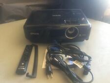 EPSON H445A MG-50 LCD Home Theater Projector Ipod Ipad Iphone, 198 ORIGINAL HRS!