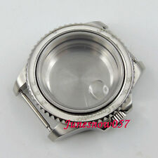 Parnis 40mm 316L stainless steel watch case fit ETA 2824 2836 movement C100