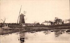 Arkley Windmill in Vulcan Series for S.Rush, Arkley, High Barnet.