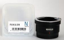 Novoflex adaptador Fux/Ler Leica R an Fuji X cámaras Fux/Ler ***