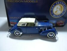 CORD 812 PHAETON 1937 1/24 FRANKLIN MINT