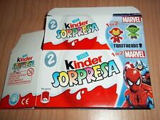 TEST 2-PACK VUOTO TWISTHEADS MARVEL KINDER ITALIA 2013/2014