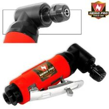 """Neiko Pro 1/4"""" Mini Right Angle Head Air Die Grinder Rear Exhaust Cut Off Tool"""