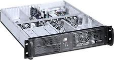 "2U (3xHorizontal Riser/ 7Slot) ATX Rackmount (2x5.25""+6xHDD)(4x4cm fans)Case NEW"
