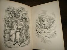 1846 CHARLES DICKENS THE BATTLE OF LIFE LOVE STORY CHRISTMAS BOOK  13 plts BOZ @