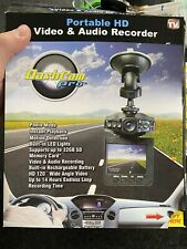 New listing Dash Cam Pro - Hd Video & Audio Recorder - As Seen On Tv - New - Portable