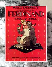 """#401 Ferdinand The Bull Walt Disney Movie Poster FRIDGE MAGNET 2.5""""x3.5"""""""