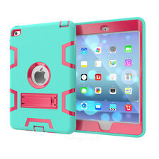 Shockproof Heavy Duty Rubber With Hard Stand Case Cover For iPad Mini 1 2 3 4 /6