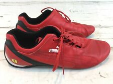 Ferrari Racing Mens Shoes Puma Red Size 13 EUC