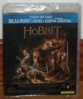 EL HOBBIT LA DESOLACION DE SMAUG THE HOBBIT COMBO BLU-RAY+DVD PRECINTADO NUEVO