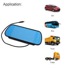 "7"" TFT LCD Car Rear View Mirror Monitor Reversing Camera Kit DVD Mirror Monitor"