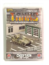 Gale Force Nine, Tanks The Modern Age Miniature Game, British Chieftain, New