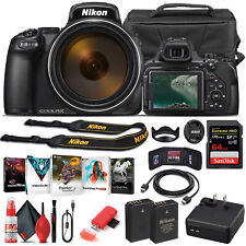 Nikon COOLPIX P1000 Digital Camera 26522  - Basic Bundle
