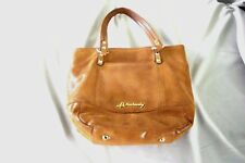 B. Makowsky Reptile Print Leather Handbag #A212545