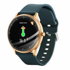 Medição da temperatura corporal Smart Watch Batimento Cardíaco Monitor De Pressão Arterial Sono