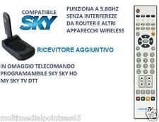 RICEVITORE AGGIUNTIVO GBC 58700096 5,8GHZ X TRASMETTITORE AUDIO VIDEO 58700095
