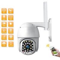 1080P HD IP CCTV Camera Waterproof Outdoor WiFi PTZ Security Wireless IR Cam UK*