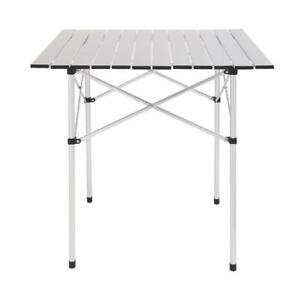 Square Camping Table Folding Table Aluminum Table Patio Furniture With Bag