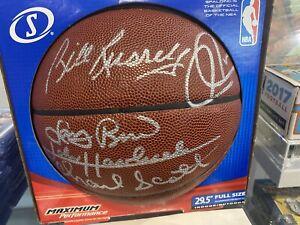 Fanatics/JSA  Autographed Bill Russell / Larry Bird / Havlicek / Pierce / Scott