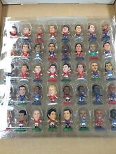 MIXED COLOR BASE Full Set (40) of 2010 Micro Soccer Worldstars Figurines