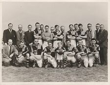 Football Team Press Photograph, possibly Truro Cornwall 1940s 1950s 1960s