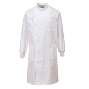 Portwest C865 Howie Lab Coat Texpel Finish Doctor Dentist Catering Jacket