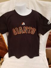 AWESOME San Francisco Giants Buster Posey Y Sz 7 2014 WS Jersey T-Shirt, NICE!