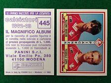 CALCIATORI 1992-93 n 445 PIACENZA BRIOSCHI SUPPA , Figurina Sticker Panini NEW