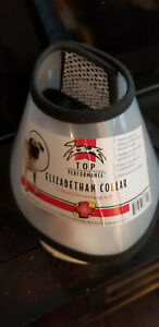 SMALL ADJUSTABLE PET CONE/COLLAR- NEVER WORN- ELIZABETHAN PET RECOVERY COLLAR
