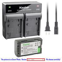 Kastar Battery AC Rapid Charger for Panasonic CGR-D08 AG-DVX100 AG-DVX100A NV-C1