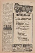 1924 REO Speedwagon Magazine Ad