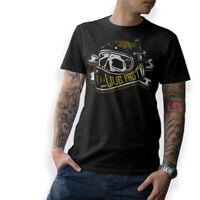 BIKER T-Shirt LIVE FAST Oldschool Skull Motorrad Schrauber MC Cafe Racer S-5XL