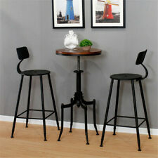 Retro Round Breakfast Bar Table Bistro Table Made Dining Kitchen Cafe Pub Table