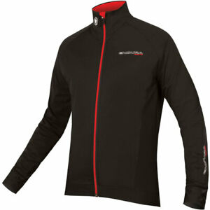 Endura FS260-Pro Jetstream Long Sleeve Jersey Black/Red Size S New with Tag UK