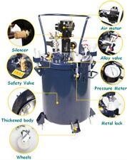 5gal Pressure Feed Paint Pot Tank Spray Gun Sprayer Regulator Air Agitator141020