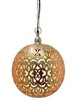 Contemporary Iron Handmade Hanging Moroccan Ball Heart Design Decor Lighting