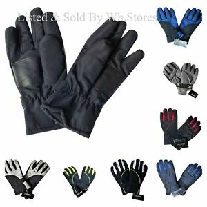 BOYS SKI GLOVES 12-14 years  20* THERMAL INSULATION CHILDRENS  WATERPROOF