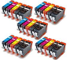 25 PK Ink Cartridges Combo + LED chip for PGI-220 221 Pixma iP4700 MX860 MX870