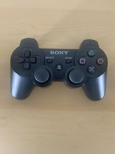 Genuine OEM Sony PlayStation 3 PS3 Sixaxis DualShock 3 Controller BLACK Tested