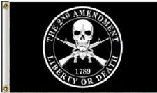 3x5 2nd Amendment 1789 Liberty or Death Gun Rights Rifles Guns Polyester Flag