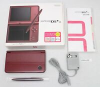 Nintendo DS i LL console Brown working boxed UTL-001 Japan Mint ! 1909-160