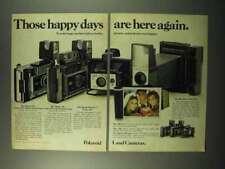 1972 Cámara Polaroid ad - 450, 420, Big Shot