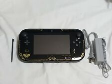 Nintendo Wii U Zelda Wind Waker GamePad w/ Stylus & OEM Power Cord tablet remote